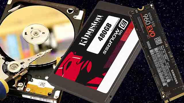 Almacenamiento Rafael Santiago Cruz HDD SSD